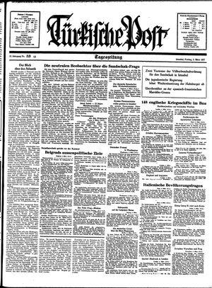 Türkische Post vom 05.03.1937
