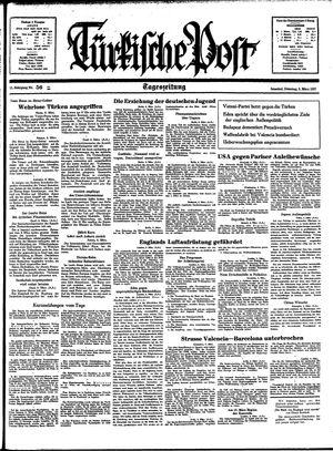 Türkische Post vom 09.03.1937