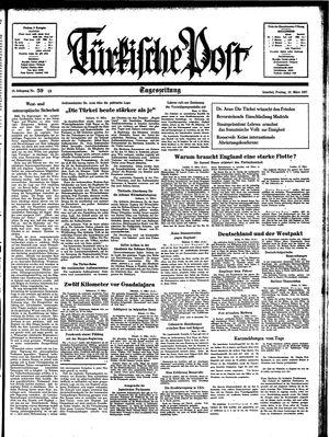 Türkische Post vom 12.03.1937