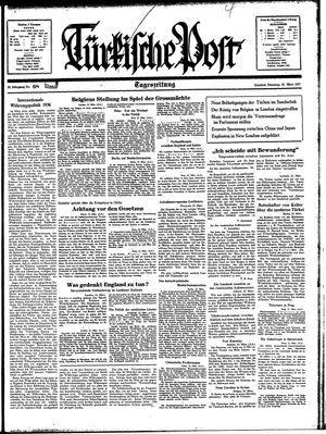 Türkische Post vom 23.03.1937