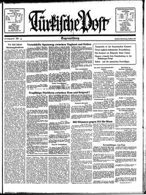 Türkische Post vom 25.03.1937