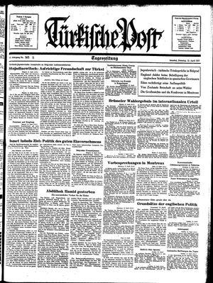 Türkische Post on Apr 13, 1937