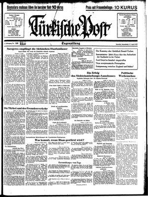 Türkische Post vom 17.04.1937