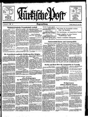 Türkische Post on Apr 26, 1937