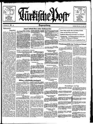 Türkische Post vom 28.04.1937