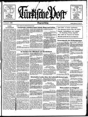 Türkische Post vom 10.05.1937