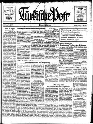 Türkische Post vom 11.05.1937