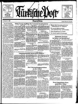 Türkische Post on May 12, 1937
