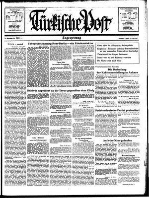 Türkische Post on May 14, 1937