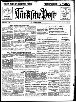 Türkische Post vom 15.05.1937