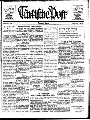 Türkische Post vom 17.05.1937