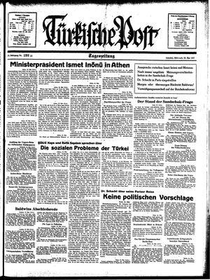 Türkische Post vom 26.05.1937