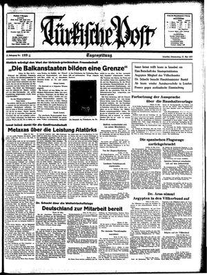Türkische Post vom 27.05.1937