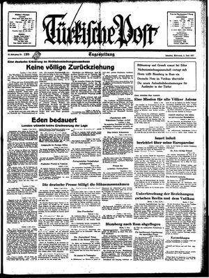 Türkische Post vom 02.06.1937