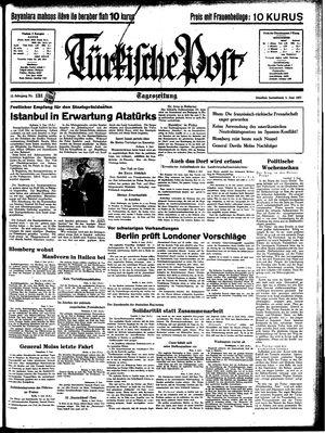 Türkische Post vom 05.06.1937