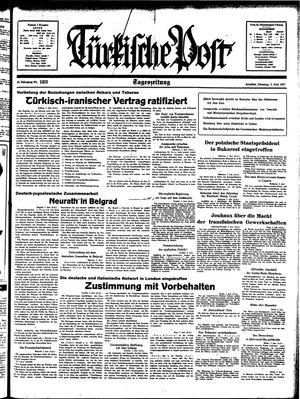 Türkische Post vom 08.06.1937