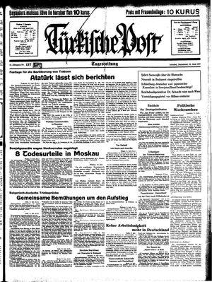 Türkische Post vom 12.06.1937