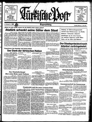 Türkische Post on Jun 14, 1937
