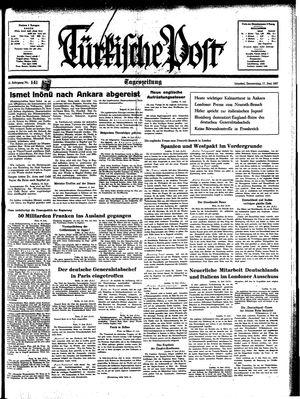 Türkische Post vom 17.06.1937