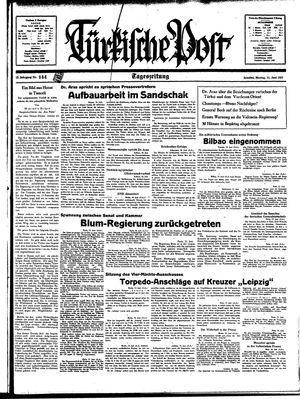 Türkische Post on Jun 21, 1937