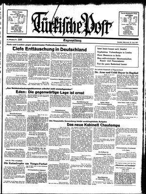 Türkische Post vom 23.06.1937