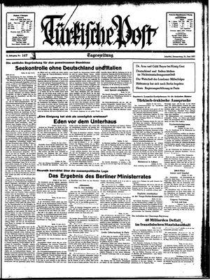 Türkische Post vom 24.06.1937