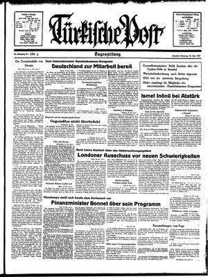 Türkische Post vom 29.06.1937