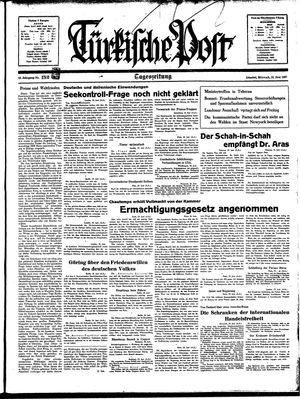 Türkische Post vom 30.06.1937