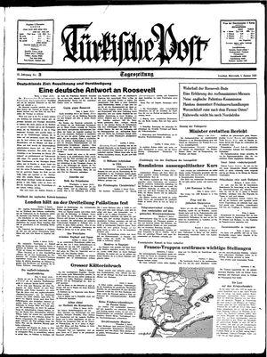 Türkische Post vom 05.01.1938