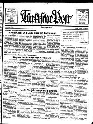 Türkische Post on Jan 11, 1938