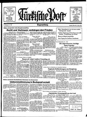 Türkische Post vom 12.01.1938
