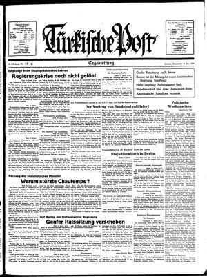 Türkische Post vom 15.01.1938