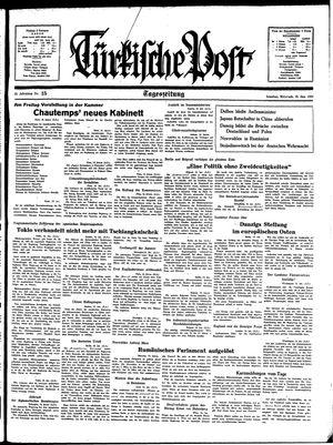 Türkische Post vom 19.01.1938
