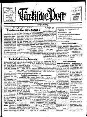 Türkische Post vom 20.01.1938