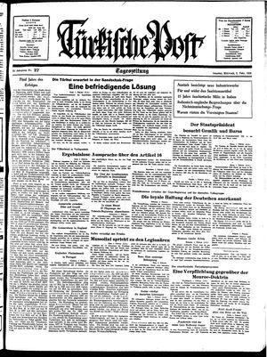 Türkische Post on Feb 2, 1938