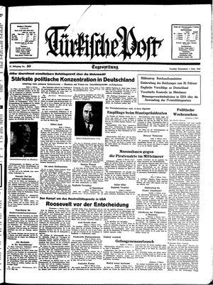 Türkische Post vom 05.02.1938
