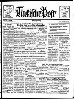 Türkische Post vom 08.02.1938