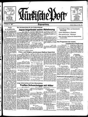 Türkische Post on Feb 14, 1938