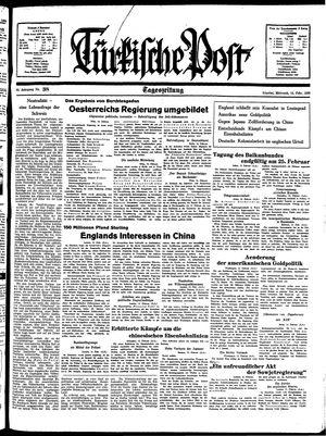 Türkische Post vom 16.02.1938