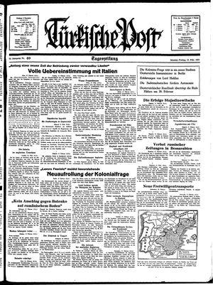Türkische Post vom 18.02.1938