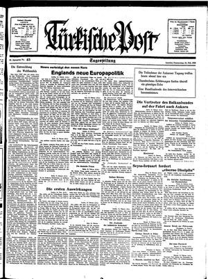 Türkische Post on Feb 24, 1938