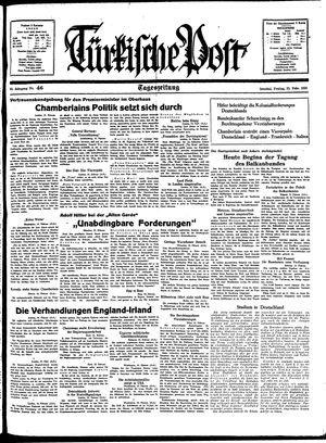 Türkische Post vom 25.02.1938