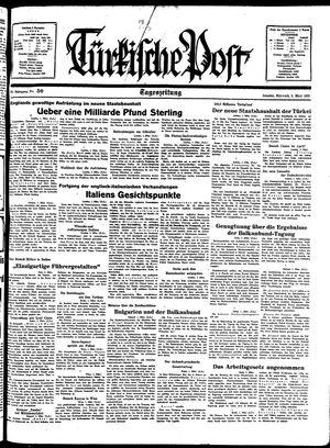 Türkische Post vom 02.03.1938