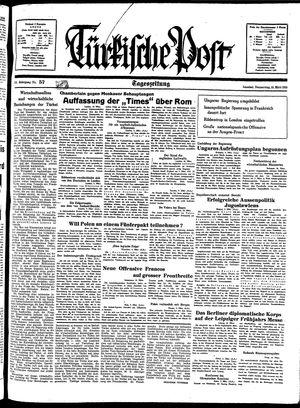 Türkische Post on Mar 10, 1938