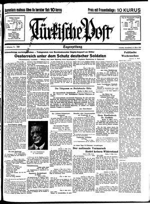 Türkische Post on Mar 12, 1938