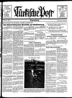 Türkische Post vom 28.03.1938