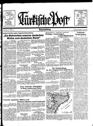 Türkische Post on Apr 2, 1938