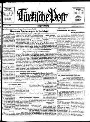 Türkische Post on Apr 25, 1938