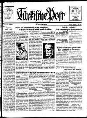 Türkische Post vom 03.05.1938