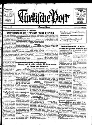 Türkische Post on May 6, 1938